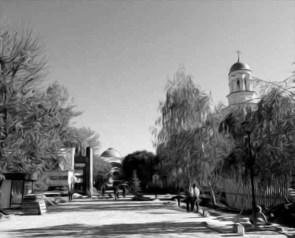 Губернатор Валерий Радаев проверил ход работ по благоустройству общественных территорий у Крытого рынка